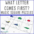 What Letter Comes Before? Magic Square