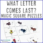 What Letter Comes Next? Magic Square