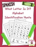 Alphabet Letter Recognition: What Letter Is It (Spanish)