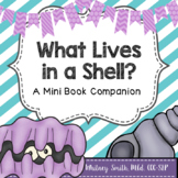 What Lives in a Shell: A Mini Book Companion