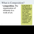 What Makes a Good Composition PowerPoint