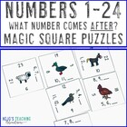 What Number Comes After? Magic Square Puzzle