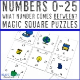 What Number Comes Between? Magic Square