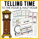 What Time Is It? (Telling Time to the Hour & Half Hour)