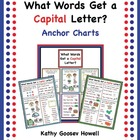 What Words Get a Capital Letter? Anchor Charts