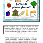 What do plants give us?
