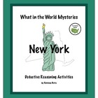 New York State:  What in the World Mysteries