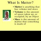 What is Matter?  Powerpoint Lesson