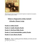 """Whatever Happened to Arthur Smekyl"" A Readers Theatre Scr"