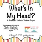 LITERACY: What's In My Head?- A Creative Biography Project