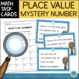 Mystery Number Task Cards - Critical Thinking