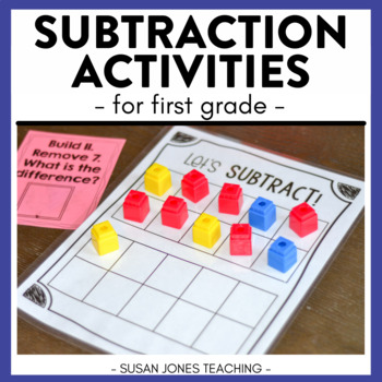 What's The Difference? A Common Core Subtraction Unit for 1st Grade