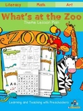 Whats at the Zoo?  Theme Lesson Plan