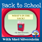 """What's in the Sack"" by Shel Silverstein PowerPoint - Begi"