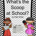 What's the Scoop at School? BTS Freebie