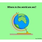 Where in the World Are We?  Map Project