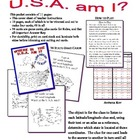 Where inThe USA Am I?  Card Game