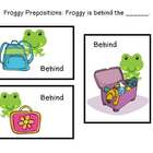 Where is Froggy? Froggy Prepositions