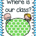 Where is Our Class Sign