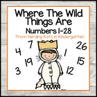 """Where the Wild Things Are"" I Have... Who has..? Number Game"