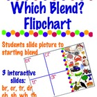 Which Blend?  Flipchart -3 Sets:  ch,sh,th,wh / gl,cl,bl,f