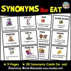 Which 'Chews' Do You Choose? Synonyms for Eat!