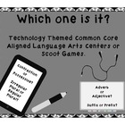 """Which One Is It?""Language Arts Technology Themed Common C"
