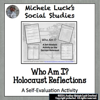 Who Am I? Reflective Response Activities on the Holocaust