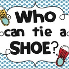 Who Can Tie a Shoe? Poster