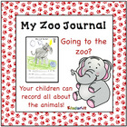 Who Is At The Zoo? a writing journal