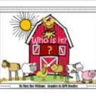 """Who is in the barn?"" farm theme sight word mini unit"