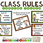 Whole Brain Teaching Class Rules - Camping Theme