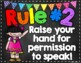 Whole Brain Teaching Rules Posters FREEBIE! {Chalkboard Theme}