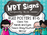 Whole Brain Teaching Rules and Signs Cute Kids