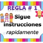 Whole Brain Teaching Rules in Spanish