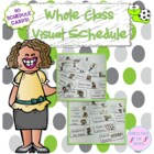 Whole Class Picture Schedule, GREAT for kids with Autism o