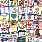 Calendar Holiday Cards Whole Year Plus Page Of Fillable Bi