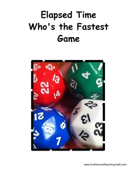 Who's the Fastest Elapsed Time Game