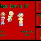 Whose Turn Is It? Stick Kids Theme Overlays Classroom Mana