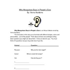 Why Mosquitoes Buzz in People's Ears Week Guided Reading Unit