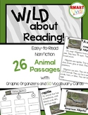 Wild About Reading: 26 Nonfiction Animal Passages with Tre
