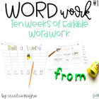 Wild About Word Work-Add Your Own Words Version