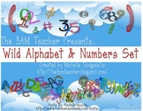 Wild Alphabet & Number Set by The 3AM Teacher