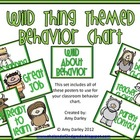 Wild Thing Behavior Chart