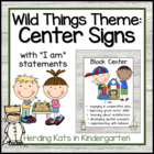 Wild Things  Center Signs