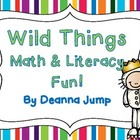 Wild Things Literacy and Math activities