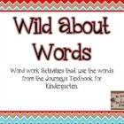 Wild about Words: Word work activities for Journeys Readin