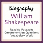 William Shakespeare Warm-up Activities: 5 Days with Willia