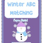 Winter ABC Matching - Uppercase and Lowercase
