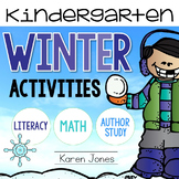 Winter Activities for Kindergarten with ELA & Math Common Core!